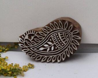 Indian batik wood, print stamp