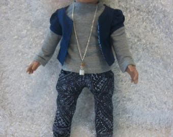 """5 piece 18"""" doll outfit"""