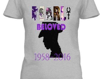 Prince dearly beloved, prince tee, prince tshirts, limited edtion prince tee