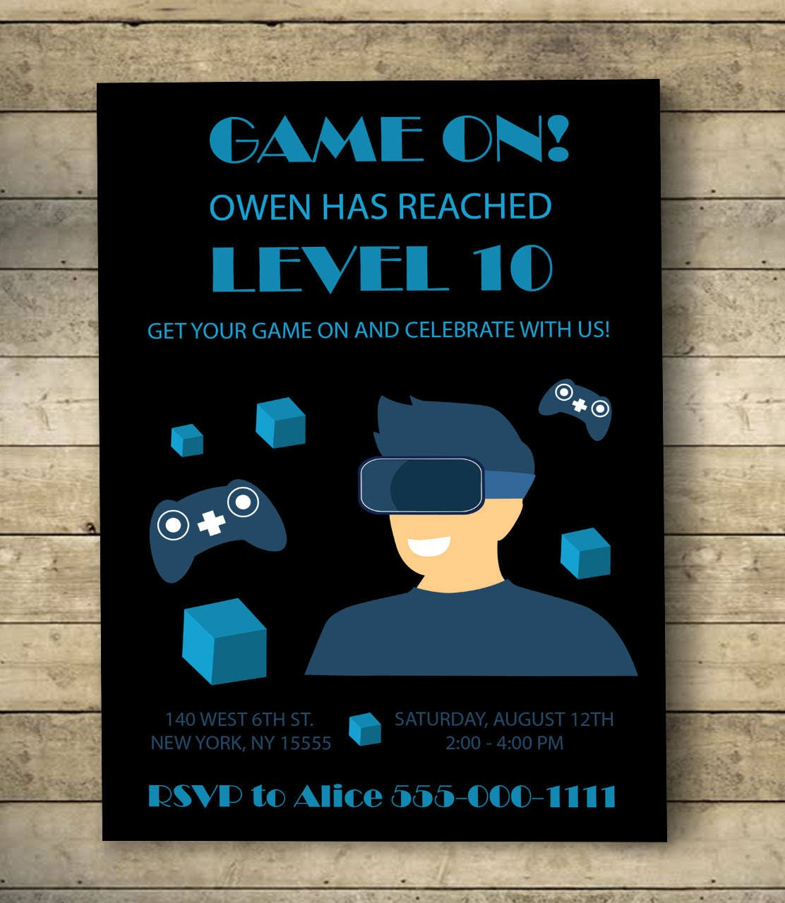 Video game birthday invitation video game birthday party video game birthday invitation video game birthday party invitation video game birthday party stopboris Image collections
