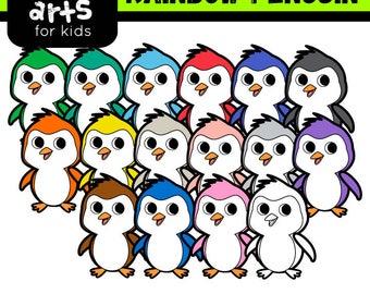 Penguin clip art | Etsy | {Französische küche clipart 99}