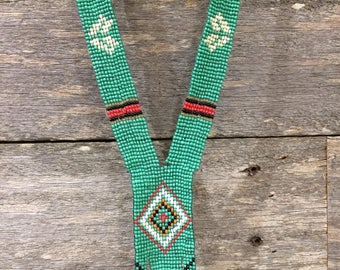 Green Aztec Necklace