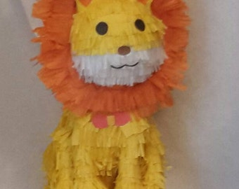 Lion PIÑATA. Handmade. New