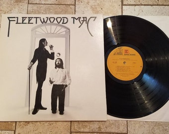 "Fleetwood Mac ""self titled"" LP 1975 Reprise Records with lyrics insert"
