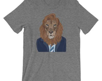 Unisex - Conan O'Lion Short-Sleeve T-Shirt - Conan O'Brien presents: puns