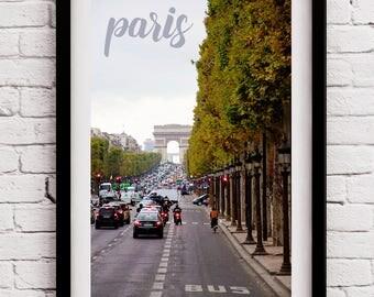 Travel Enthusiast - Office Decor for Traveler - Large Travel Art Living Room - World Traveler - Paris Baby Shower - Office Photo Art