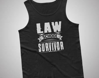 Law School Survivor Tank / T-Shirt