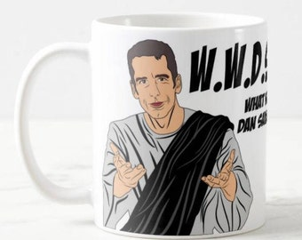 Dan Savage - Savage Lovecast Podcast Inspired Customized Coffee Mug Gift, WWDSD - What Would Dan Savage Do, Pop Culture Gift