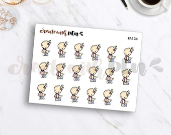 TA134 | CLINGY BABY | Tinta | Planner Stickers