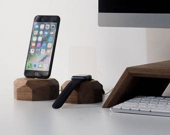 iPhone stand, iPhone station, stand for iphone, station for iphone, wood iphone stand, charging station for iphone, iphone dock station