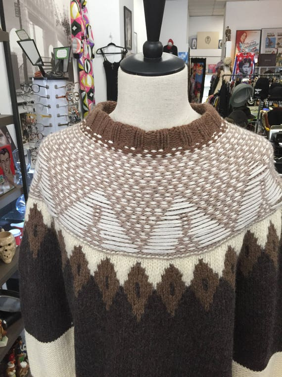 Maison Margiela for H&M Capsule Collection Re-Assembled Men's Fair Isle Sweater