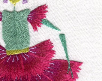 Hand embroidery kit, Reverance, or Christmas present