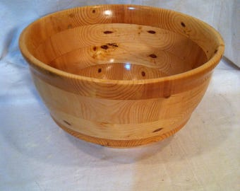 Salad Bowl Layered Pine