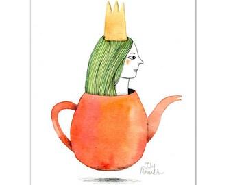 The Queen of tea