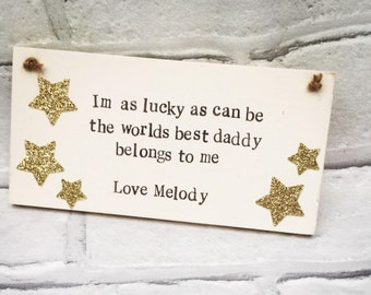 Christmas gift for dad, Dad gift, Personalised Dad, Daddy gift, Dad sign, Grandad sign, Personalised grandparents, Step dad sign, Christmas
