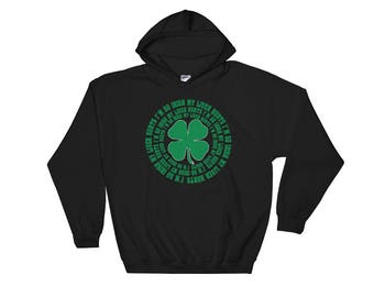 Funny Irish Hoodie Gifts For Men St Patricks Day Gift Drinking Hoodie Irish Dad Gifts Saint Patricks Day Lucky Clover Shamrock