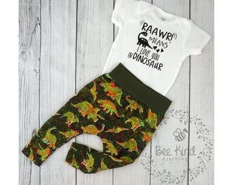 Custom Vinyl Shirt, dinosaur outfit, baby boy outfit, Kids Shirt, Dinosaur Shirt, Shirt for Boy, Infant clothing, dinosaur outfit