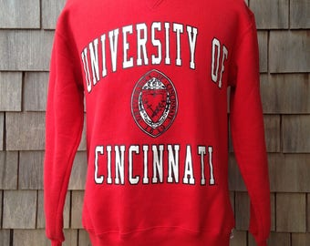 Vintage 90s CINCINNATI BEARCATS Sweatshirt - Medium - University