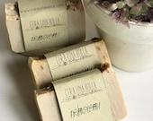 Frangipani natural soap, ...