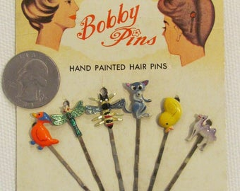 Bobby Pins 1950's Old Store stock