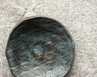 Blue Finn Salt Dish 1