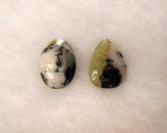 Chatham County Lime, CCL, Cabochons, New from NC