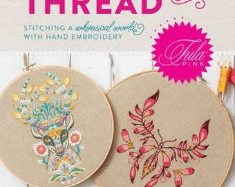 PRE-ORDER Coloring With Thread Book by Tula Pink