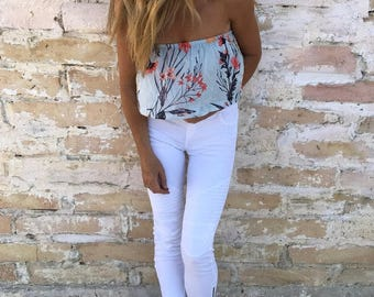 Camber Floral Top