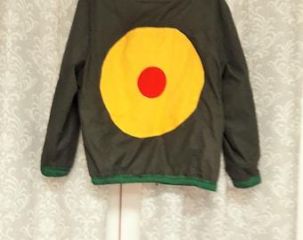 Green Plankton Inspired Jacket