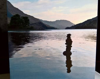 Loch Leven - Photographic Greeting Card