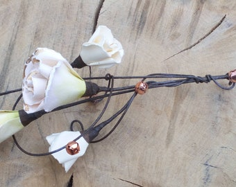 Flower wishing wand