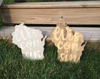 Wisconsin State Sign | Wood Sign