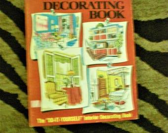 70s  Interior Decorating Set Design Vintage Book