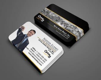 Century 21 Business Card - Real Estate Business Card Design - Realtor Business Card - Brokerage Business Card - Custom Design