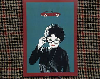 Muriel Spark (Illustrated Literary Postcards & Prints: Writers)