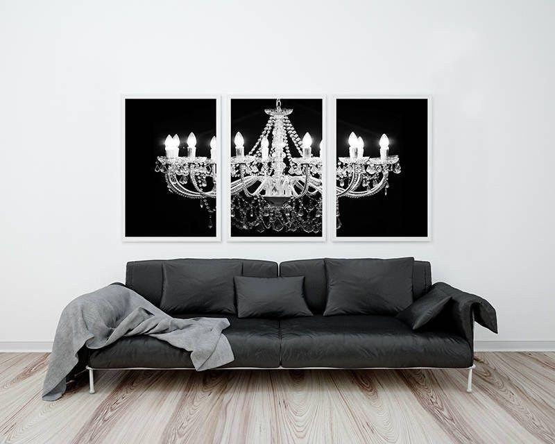 Chandelier Wall Art chandelier set, chandelier wall art, chandelier print set