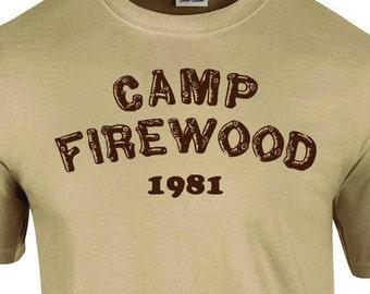 Camp Firewood T Shirt
