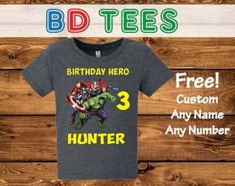 salesale Off Avengers Assemble shirt/avengers birthday shirt/birthday boy avengers shirt/Avengers shirt/birthday boy shirt/avengers/ 183.