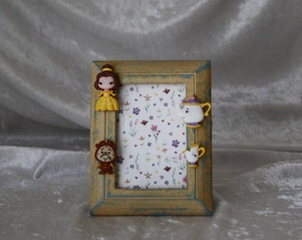 Beauty and The Beast Picture Frame