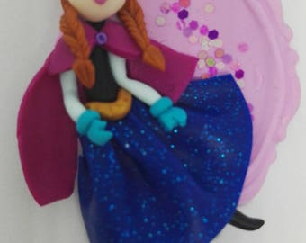 Anna Disney frozen Queen-inspired pendant