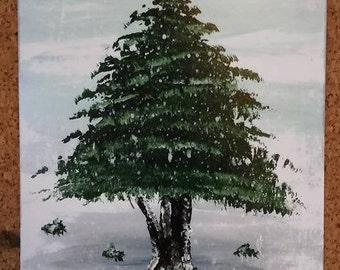 Evergreen Tree 3 (print)
