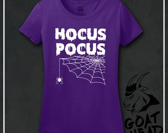 Witch Shirt, Hocus Pocus, Halloween Shirt, Witchy Shirt, Pagan, Goddess clothing, Spooky, Creepy, Spider, Moon Lover, Tshirt, Shirt, Tee