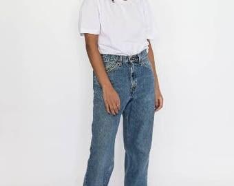 Vintage 90s Blue 550 Levis Denim Jeans