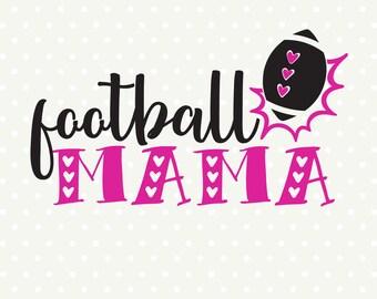 Football SVG, Football Mom SVG file, Football Mama svg, Football Mom Shirt svg design, Football cut file, Sport SVG