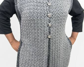 Grey all Day Long Vest
