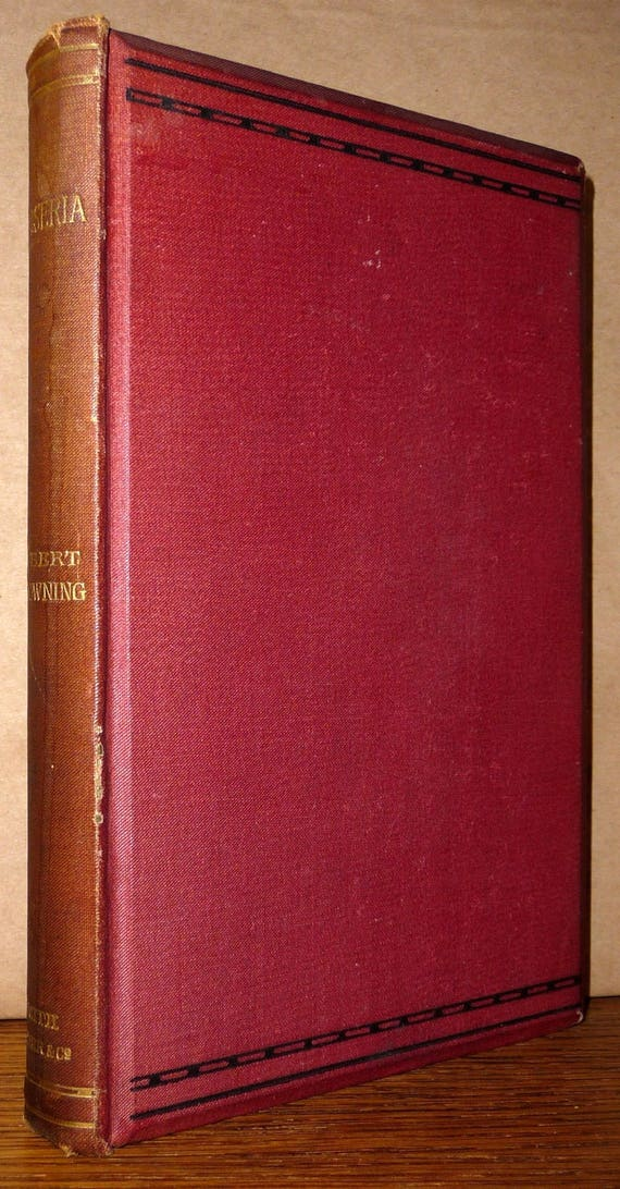 Jocoseria by Robert Browning 1883 1st Edition Hardcover HC Smith Elder & Co.  London - Poem Poetry