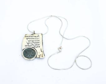 Necklace with psalms and benediction