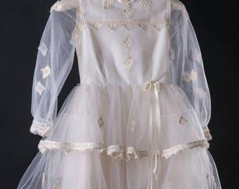 Vintage Flower Girl/ Communion Dress