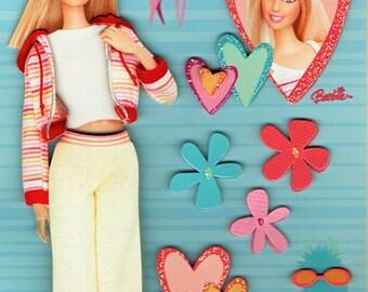 Barbie  Scrapbook Stickers Embellishments Cardmaking Crafts Sandylion