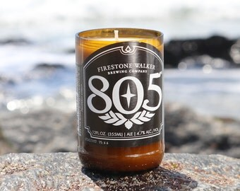Soy Wax 8oz. 805 Beer Bottle Candle
